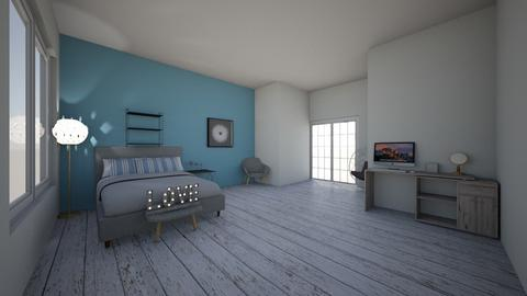 teen room  - Bedroom - by addifuller