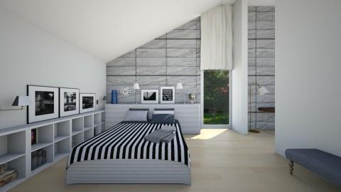 Flat - Bedroom - by Valentina Cremonini