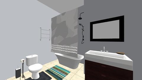Bathroom - Eclectic - Bathroom - by dinogirl1114