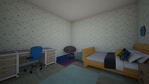 Beach house bedroom - Bedroom - by mlyearnshawr8