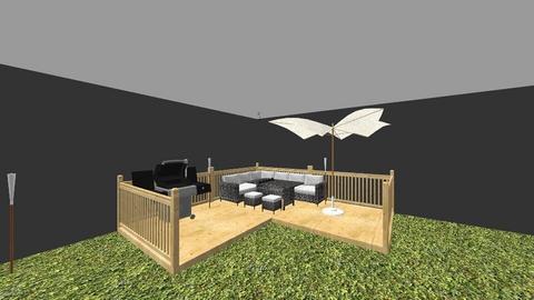 patio - Garden - by Kamyk94