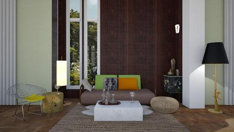 Midcentury eclecticism  - Eclectic - Living room - by Lyske Imagines Homes