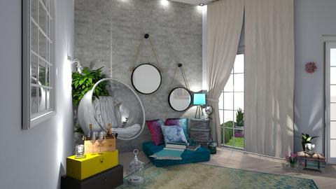 Positivity - Living room - by zenaalomran