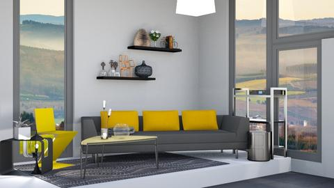 Contest Dream Home - Modern - Living room - by Isaacarchitect