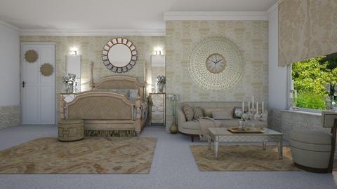 Golden Room - Bedroom - by creato