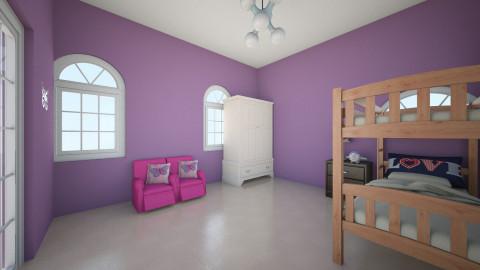 twins room - Vintage - Kids room - by Isabella Factor