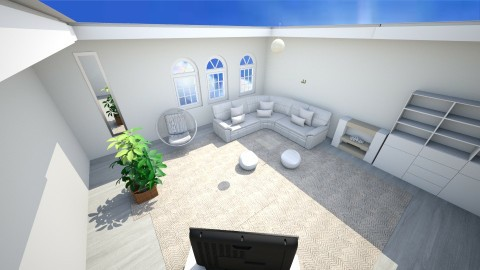 sun teen room - Living room - by ingramam1210
