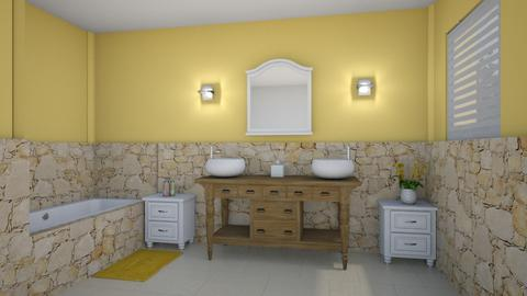 yellow - Bathroom - by Phospective