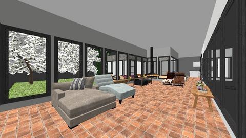 hexagon - Living room - by TRMVM