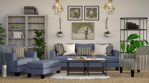 Elijah - Rustic - Living room - by millerfam