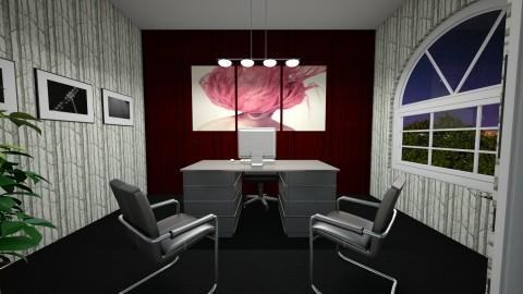 Cozy Study - Modern - Office - by nicquo40