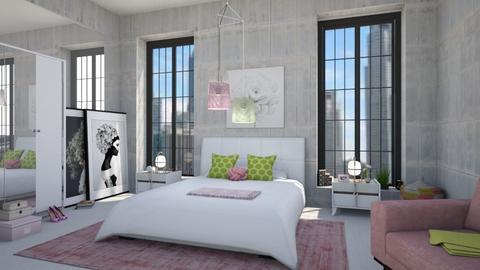 Pink Love - Bedroom - by NettaR48