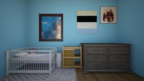 Baby boy room - Kids room - by Crazy cat girl 10