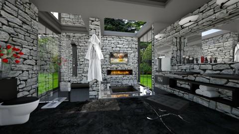 el Grotto - Modern - Bathroom - by Lackew
