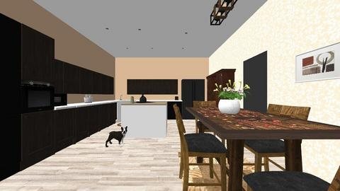 Kitchen - by hannahpotterjoy