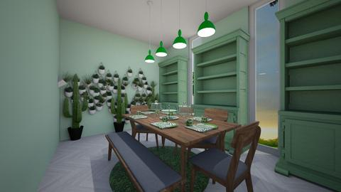 Greenery - Dining room - by anonymous2