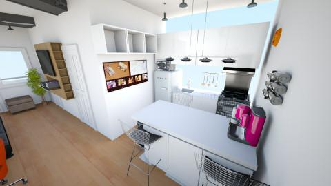 PW condo living 1 - Minimal - Living room - by BigChill