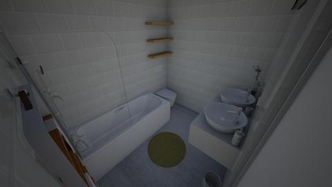 Family Flat Bathroom - Modern - by everybodyfeel