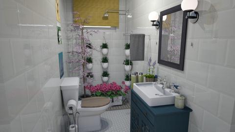 casa do gabriel banheiro  - Bathroom - by jupitervasconcelos