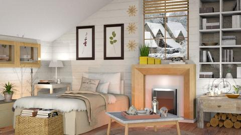 Winter Bedroom - Eclectic - Bedroom - by Sally Simpson