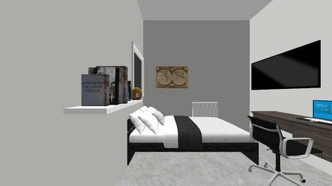 Aviv_room2 - Bedroom - by Ori1998