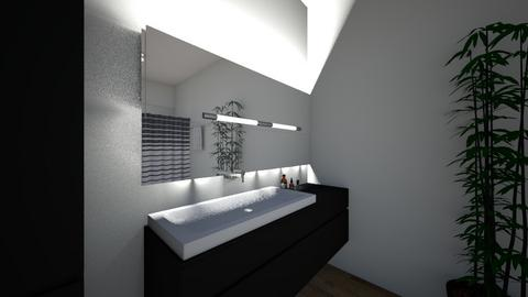 bathroom - by GenoWolf_Xalesis
