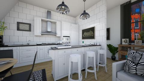 kitchen whith bar - Kitchen - by rasty