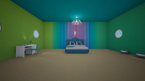 Underwater Room - Bedroom - by Itsjustme1
