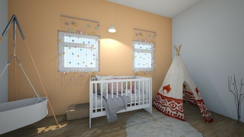 Burnt - Kids room - by chloesimoxox