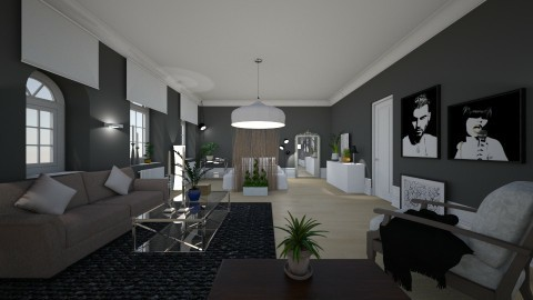 Combined Living Bedroom - by ritsa