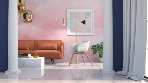 Watercolor Wash - Living room - by JennieT8623