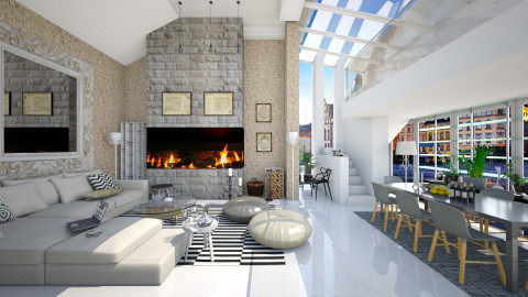 multi_design - Modern - Living room - by Ida Dzanovic