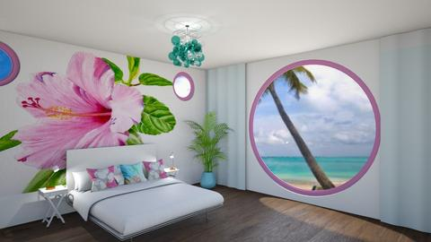 playful Florida bedroom - by fippydude