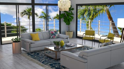 I LOVE summer - Living room - by lovedsign