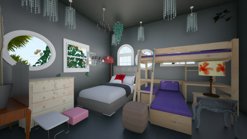 room of rain - Eclectic - Bedroom - by zahrasav