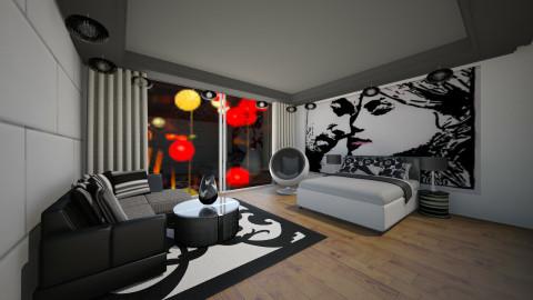 black&white - by nida