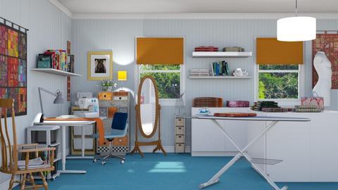 Sewing Room - by GraceKathryn