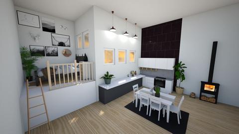 Mezzanine apartment  - by charlottesdesigns