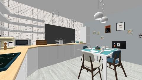 Buctarie Chiajna2 - Kitchen - by Flori Santa