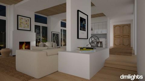 Modern Hall - Living room - by DMLights-user-981894