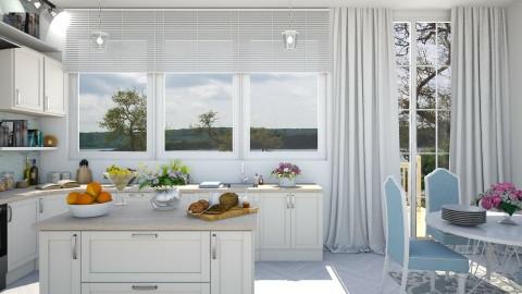 calm kitchen - Classic - Kitchen - by Ali Ruth