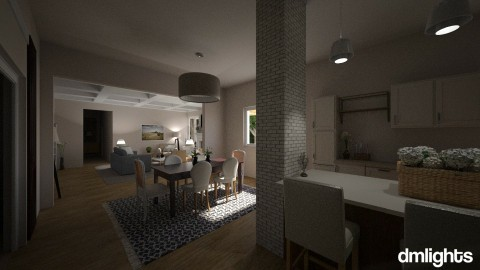 Rudicel_Addition - Classic - Living room - by DMLights-user-1383470