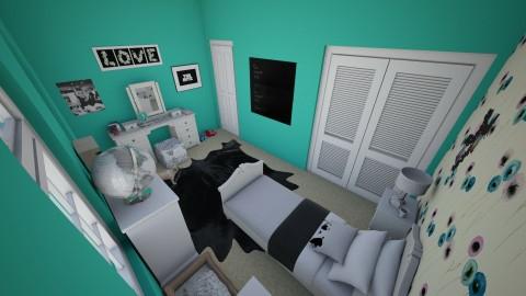 makennas room - Bedroom - by ockey33