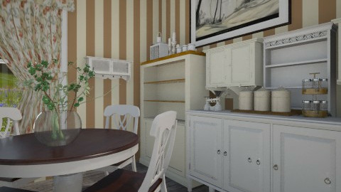 romantic flower kitchen - Country - by hetregent