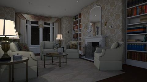 Mansion Living Room - by Valentinapenta