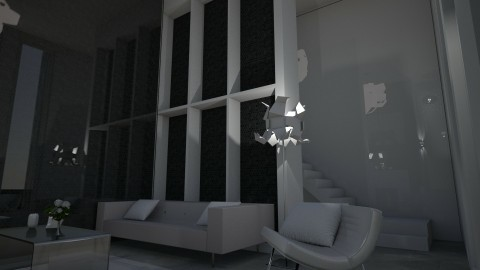 Cloud of White - Modern - Living room - by XiraFizade