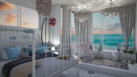 Nautical Bedroom - Bedroom - by sillvie
