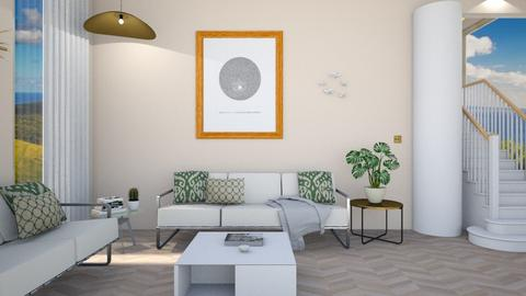 calm - Living room - by timeandplace
