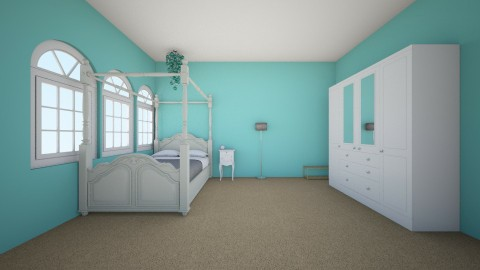 Double Decker room one  - Glamour - Bedroom - by Missally101