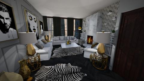 Template room - Living room - by LooseThreads